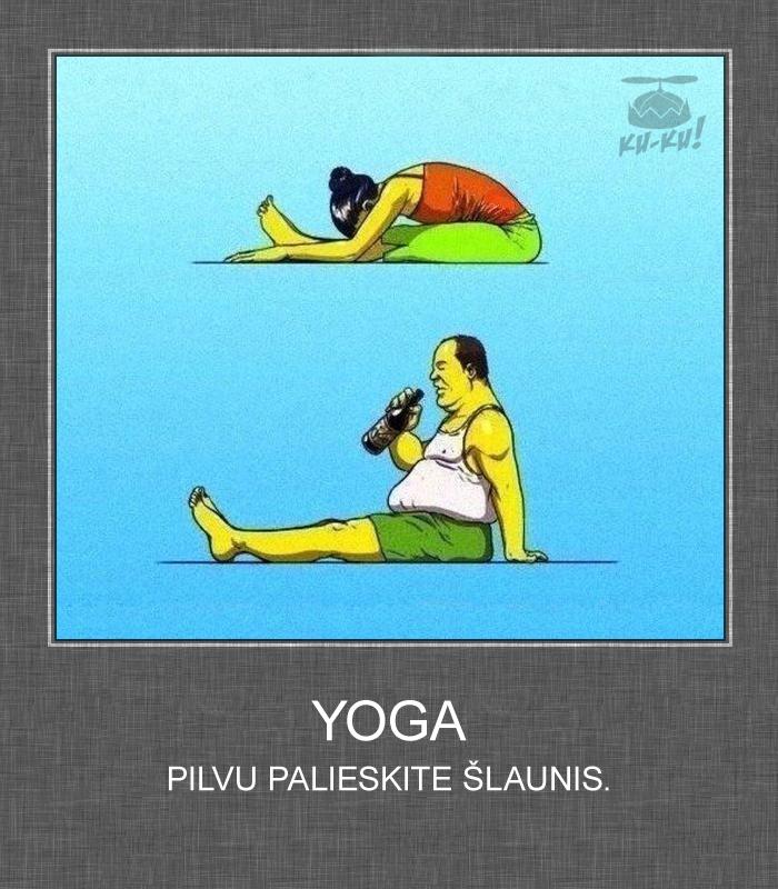 Beer-Yoga