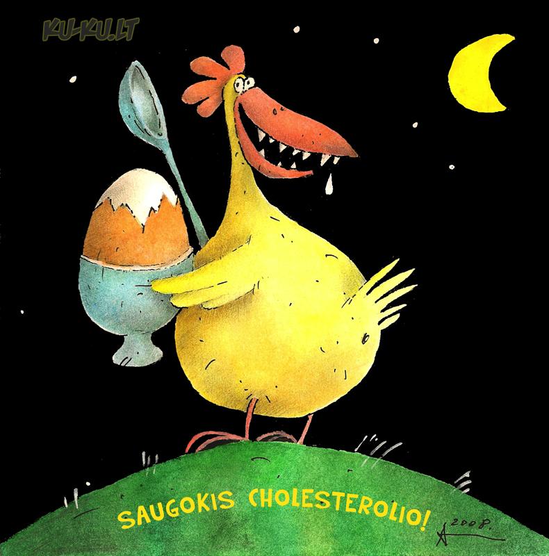 """#0070 - Sipaitis Auritas - """"Saugokis cholesterolio!"""""""